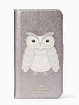 Kate Spade Owl Applique iPhone X Folio Case