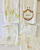Lot of 14- Kitchen Towels-variety of decoration-5 Designs - $59.39