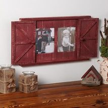 Barn Door Photo Frames- Country Red - $27.72