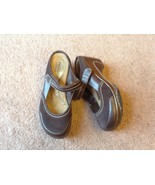 Rialto-Comfort-Mystical-Brown-Mule-Clogs-7.5 m leather shoes ladies - $25.04