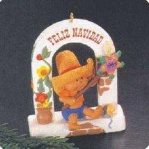 Feliz Navidad Windows of the World 1st in Series 1985 Hallmark Ornament QX4902 - $12.86