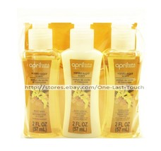 APRIL 3pc Bath & Shower VANILLA SUGAR Gift Set BODY WASH+LOTION+SHAMPOO ... - $2.95