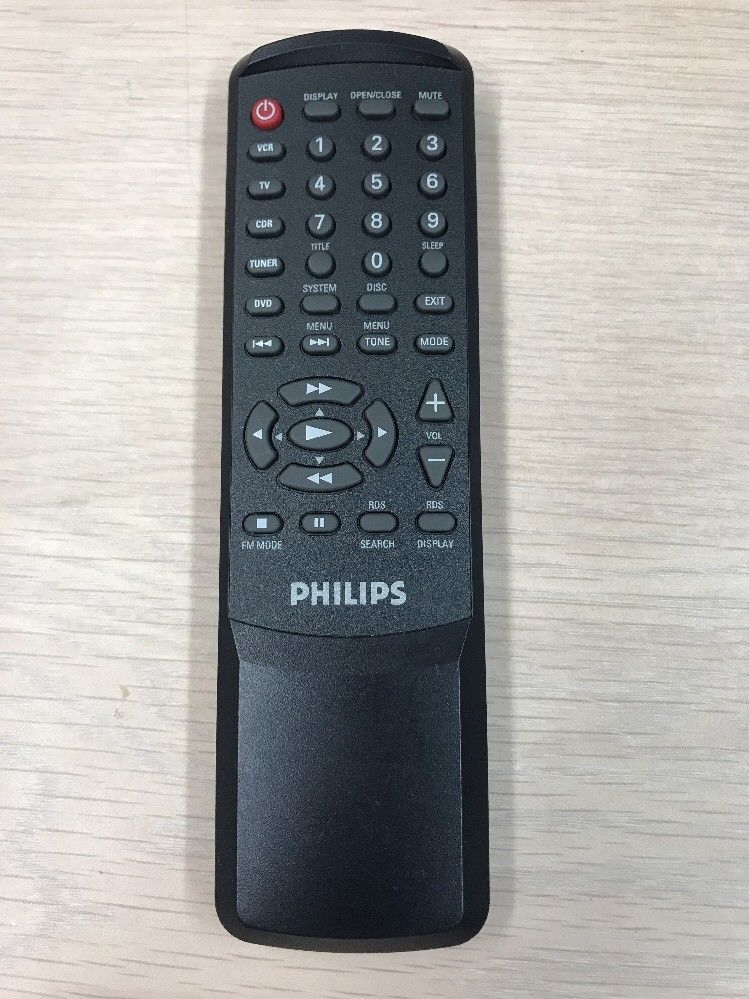 Philips Universal Remote Control Tested And Cleaned                         (P6)
