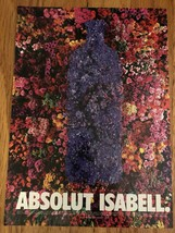 Absolut Isabell Original Magazine Ad - $3.99