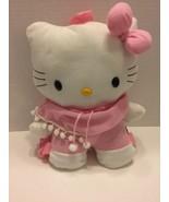 Sanrio Hello Kitty Backpack Purse Plush Pink White  - $9.49