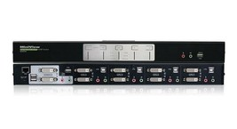 IOGEAR GCS1644 4-PORT DUAL VIEW DUAL-LINK DVI SWITCH WITH AUDIO w/CABLES... - $199.99