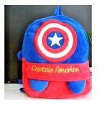 New Kids Superhero Plush Backpack Kindergarten Captain America Gifts - $10.00
