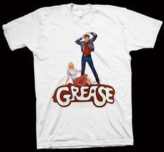 Grease T-Shirt Randal Kleiser John Travolta, Olivia Newton-John NEW - $14.99+