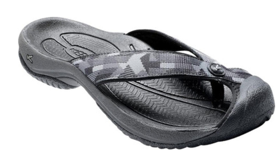 Keen Waimea H2 Size US 9 M (D) EU 42 Men's Slip On Sandals Black / Neutral Gray