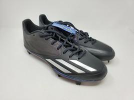 Adidas Adizero Afterburner 3 Xenon Baseball Cleats Men 10.5 Black Silver... - $33.20