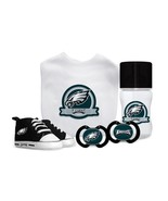 NFL Baby Fanatic Philadelphia Eagles Baby Essentials 5 Piece Infant Gift... - $45.53