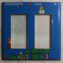 Super Mario brothers Games 8 bit Light Switch Outlet Wall Cover Plate Home Decor image 5