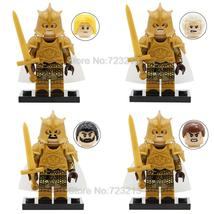 4pcs Game of Thrones Kingsguard White cloaks Jaime Meryn Selmy Minifigures Lego - $9.99