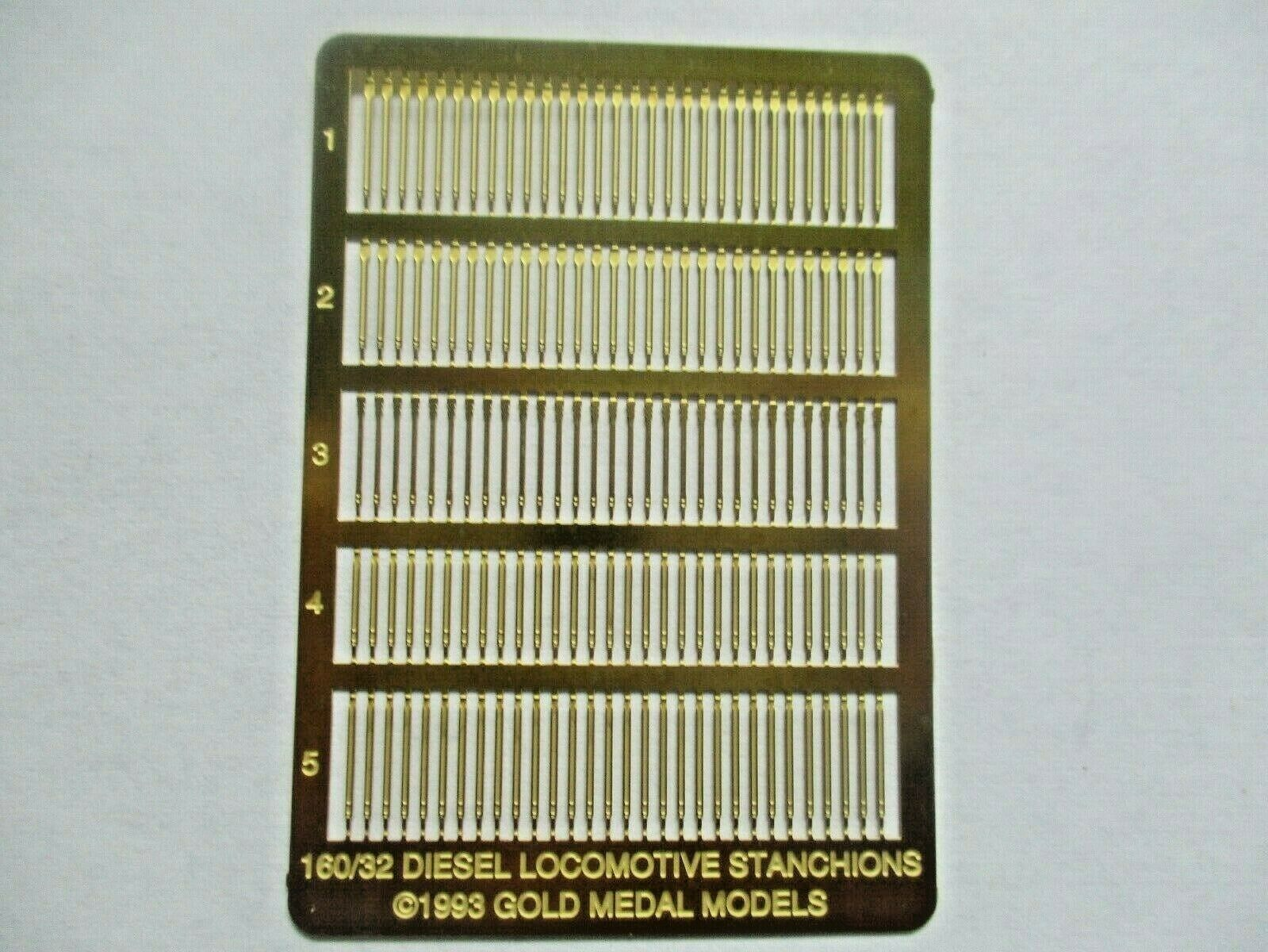 Gold Medal Models # 160-32 Diesel Loco Stanchions  N-Scale