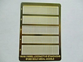 Gold Medal Models # 160-32 Diesel Loco Stanchions  N-Scale image 1