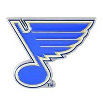 Fanmats NHL St. Louis Blues Diecast 3D Color Emblem Car Truck RV 2-4 Day... - £7.80 GBP