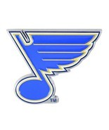 Fanmats NHL St. Louis Blues Diecast 3D Color Emblem Car Truck RV 2-4 Day... - £7.55 GBP