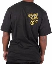 LRG Men's Black or Putty Killen EM Softly Sexy Pinup Army Girl Bomb T-Shirt NWT image 3