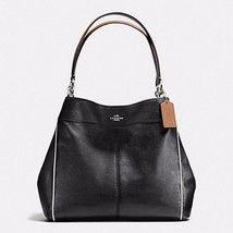 COACH F58044 Lexy Shoulder Bag with Contrast Trim in Pebble Leather $425 - $149.78+