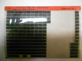1994 MERCEDES Rear Axle Wheel Location & Drive Model 140 Microfiche OEM BOOK 94 - $6.90