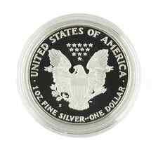 2006-W Américain Argent Eagle Épreuve en Boîte Originale W / Coa image 4
