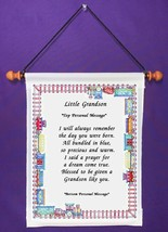 Little Grandson - Personalized Wall Hanging  (1104-1) - $18.99