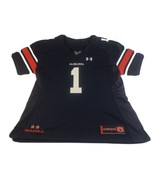AUBURN UNIVERSITY TIGERS UNDER ARMOUR #1 FOOTBALL JERSEY YOUTH SIZE L - $18.80