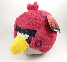 "Angry Birds Plush Terence Big Brother Red with Tag No Sound 5"" - $29.69"