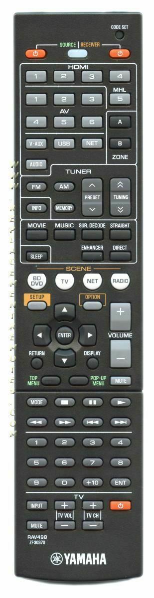 Yamaha Rav369 Remote Control WK480700: 0 listings