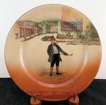 "Royal Doulton Dickens Ware ""Mark Tapley"" Rack Plate - $28.49"