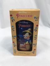 Walt Disney Pinocchio da Collezione Plastica Bicchiere W/Scatola 1994 Bu... - $14.94