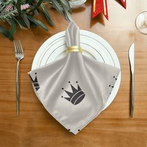 Casual Table Napkins Beautiful Creative Art Crown Queen Coffee Napkins C... - $29.99