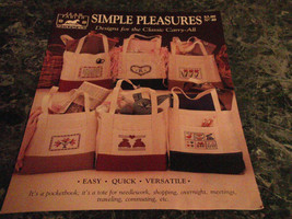 Simple Pleasures Designs for the Classic Carry all Jean Farish #40 cross... - $2.99