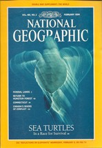 National Geographic Magazine February 1994 Supplement Not Included - $3.99