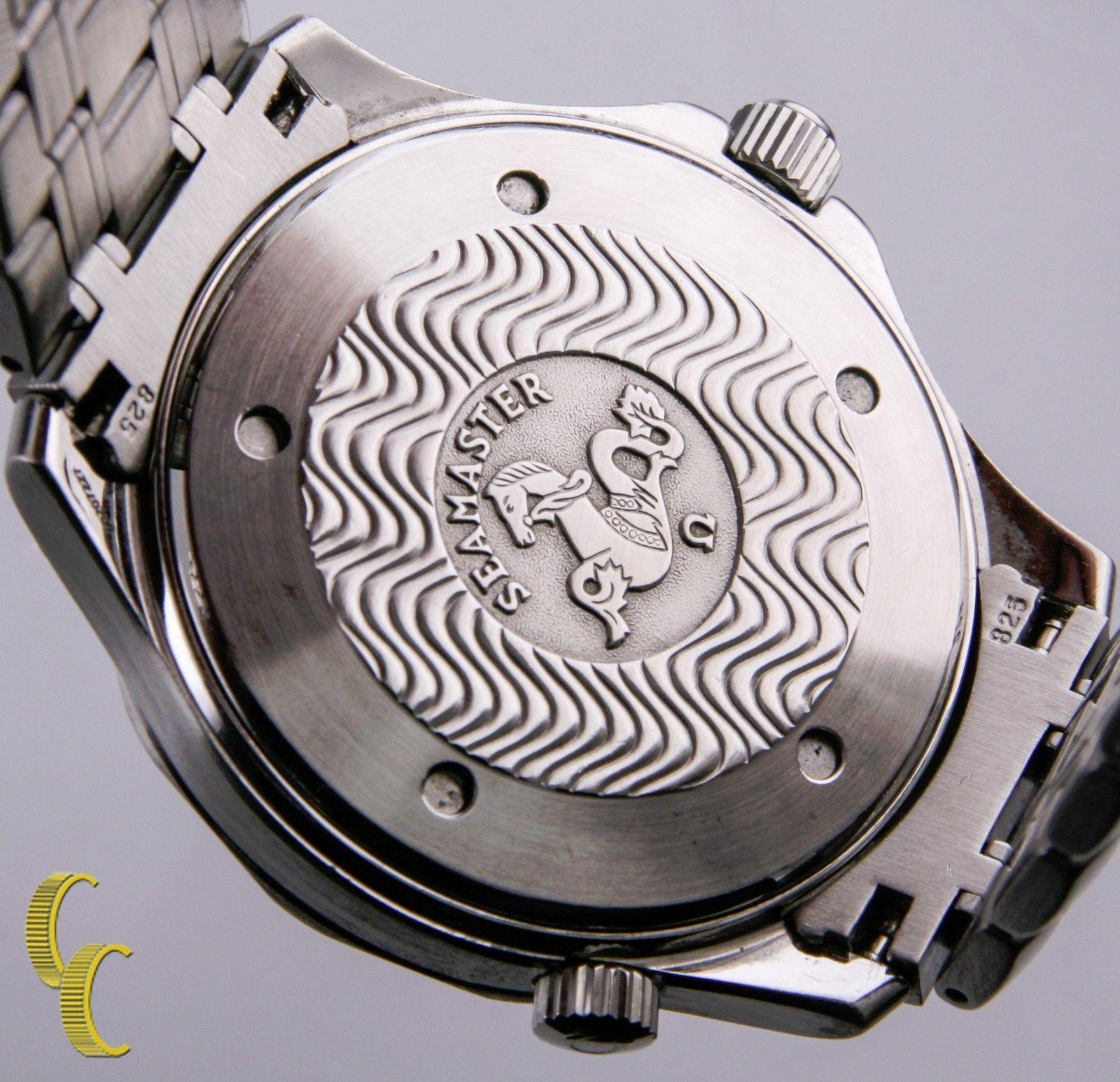 Omega Seamaster Professional Chronometer Men's Automatic SS Watch James Bond