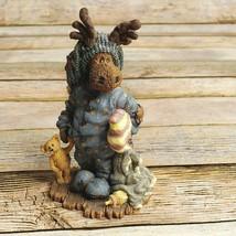 "Boyds Wee Folkstone Edgar Mooselfluff Acorn Moose Nap  4.5"" Style #36902 - $29.69"