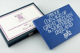 1982 & 1983 Great Britain & Northern Ireland Proof sets - $42.61