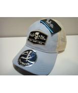 Salt Life Snap Back Hat Fish . Surf . Dive One Size Fits Most Color Blue - $23.33