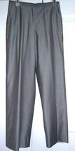 Ann Taylor Silk Look Slacks Pants Pin Striped Lined Mid 90's Size 6 VINT... - $29.77