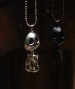 Silver Tone Alien Pendant - $0.00