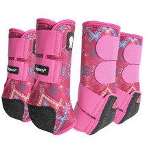 Large Classic Equine Legacy2 Support Horse Sport Boots Calypso U-CALL - $170.27