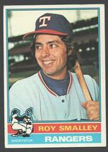 Texas Rangers Roy Smalley Rookie Card RC 1976 Topps Baseball Card # 657 ... - $0.55
