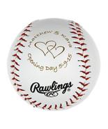 Personalized Baseball Birthday ball Wedding Gift Ball Wedding Announceme... - $9.99