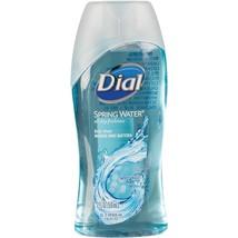 Dial Spring Water Body Wash Shower Gel Moisturizer Anti Bacteria Travel ... - $4.94