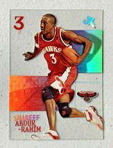 Shareef Abdur-Rahim 2003 Fleer Hard Plastic Card NBA Atlanta Hawks Baske... - $27.58