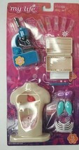 My Life As Biology Play Set for Dolls, Light Up Microscope, NEW, 5+ - $12.13