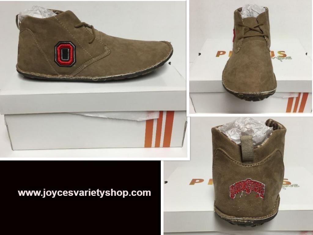 Ohio state chucca shoe web collage