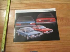 Audi 5000 Series 1980 ? 1979?  Car auto Dealer showroom Sales Brochure - $9.99
