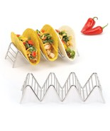 Taco Holder 3 or 4 Tacos, Rustproof Stainless Steel, 2LB Depot Set of 2 ... - $10.82