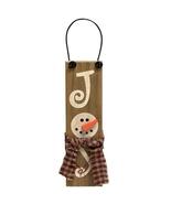Joy Snowman Sign Ornament - $1.95